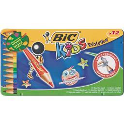Kids 15 + 3 crayons de couleur 'évolution'