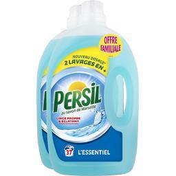 Persil Lessive liquide L'Authentique les 2 bidons de 2,59 l