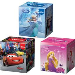 Kleenex Kleenex Boite de mouchoirs blancs Disney motifs assortis la boite de 56 mouchoirs