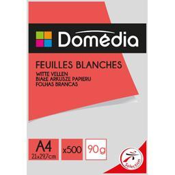 Feuilles blanches 90g/m² - 21x29,7cm - A4
