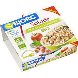 Salade quinoa et légumes BIO