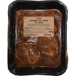 Paleron de bœuf braisé au miel