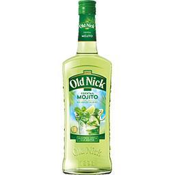 Old Nick Old Nick Cocktail Mojito au rhum blanc au citron vert & à la menthe la bouteille de 70 cl