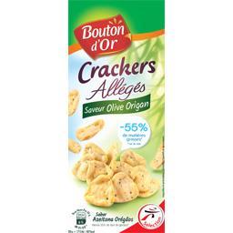 Crackers allégés saveur olive origan
