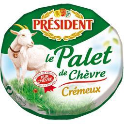 Le Palet de chèvre crémeux
