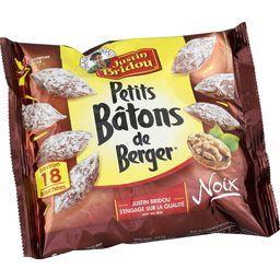 Justin Bridou Justin Bridou Le Bâton de Berger - Petits saucissons secs aux noix le sachet de 100 g