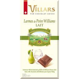 Chocolat lait larmes de poire Williams