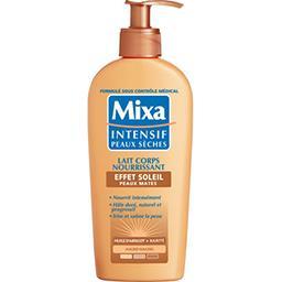 Mixa Mixa Intensif Peaux Sèches - Lait corps nourrissant effet soleil, le flacon de 250 ml