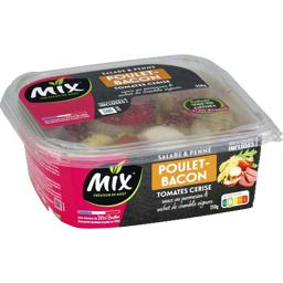 Mix Salade & Penne poulet bacon la barquette de 250 g