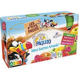 Assortiment de spécialités de fruits sans sucres ajo...