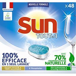 Sun Sun Pastilles lave vaisselle Classique la boîte de 48 tablettes