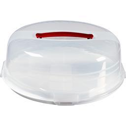 Boite à gâteau ronde 35 cm avec plateau réversible