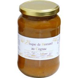Azais polito Bisque de homard au cognac Le bocal de 370 ml