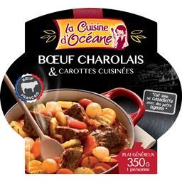 Bœuf charolais & carottes cuisinées