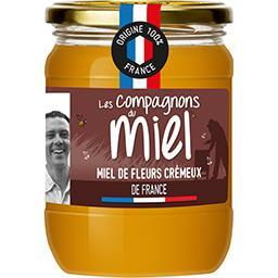 Lune de Miel Les compagnons du miel Miel de fleurs de France le pot de 750 g