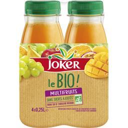 Jus multifruits bio s/sucres ajoutés Joker