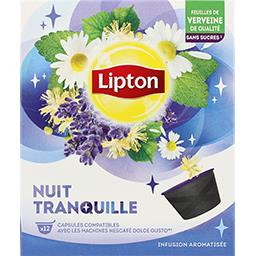 Capsules infusion Nuit Tranquille