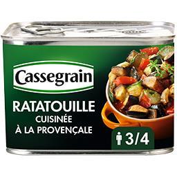 Cassegrain Cassegrain Ratatouille cuisinée à la provençale la boite de 660 g