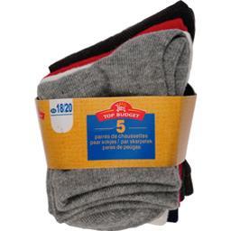 Mi-chaussettes layette garcon 24/26