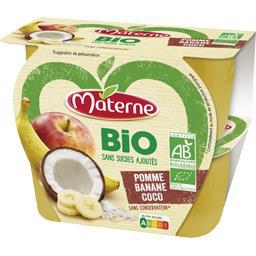 Sans Sucres Ajoutés - Spécialité pomme banane coco B...