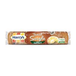 Harry's Harrys Toasts au seigle pour huîtres le paquet de 36 tranches - 280 g