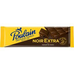 Poulain Poulain Tablette chocolat noir extra la tablette de 400 g