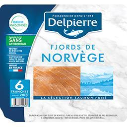 Saumon fumé Norvège