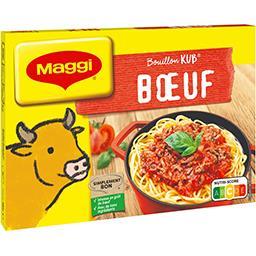 Maggi Maggi Bouillon Kub bœuf la boite de 18 cubes - 180 g