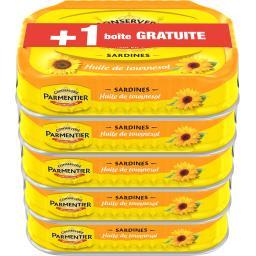 Parmentier Sardines huile de tournesol