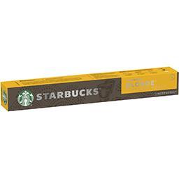 Starbucks Starbucks Capsules de café Blonde Espresso Roast La boîte de 10 capsules