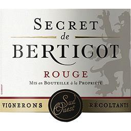 Côtes de Duras vin rouge Secret de Berticot
