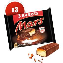 Barre chocolatée caramel