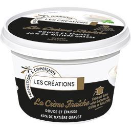 La Crème Fraîche douce et épaisse 40% MG
