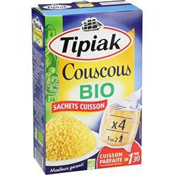 Tipiak Couscous BIO les 4 sachets de 100 g