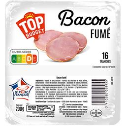 Filet de bacon fumé