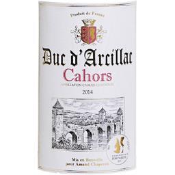 Cahors 2014, vin rouge