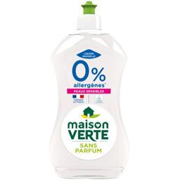 Maison Verte Liquide vaisselle hypoallergénique 0% peaux sensible...
