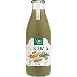 Soupe 5 légumes