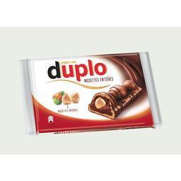 Duplo - Barres chocolatées noisettes entières