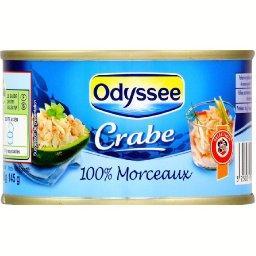 Crabe 100% morceaux
