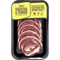 Poitrine de porc Bordelaise roulée