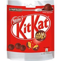 Nestlé Nestlé Chocolat KitKat - Billes chocolat au lait cœur céréales le sachet de 250 g