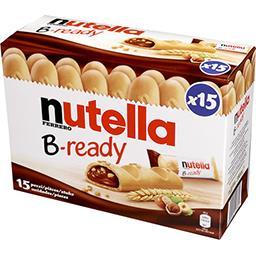 Nutella Nutella Biscuits B-Ready la boite de 15 - 330 g