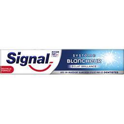 Signal Signal Dentifrice blancheur éclat et  brillance le tube de 75ml