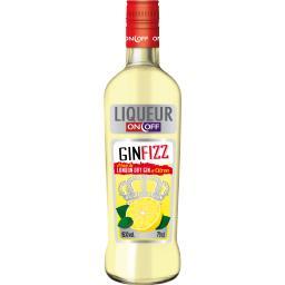 Liqueur Gin Fizz