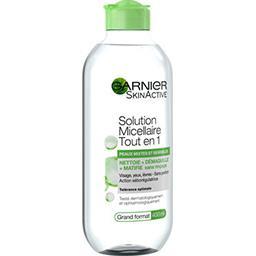 Solution micellaire tout en 1 peaux mixtes et sensibles