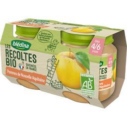 Les Récoltes BIO - Pommes Aquitaine BIO, dès 4/6 moi...