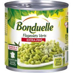 Bonduelle Bonduelle Flageolets verts extra-fins la boite de 265 g net égoutté