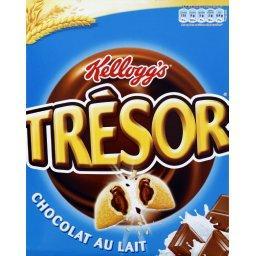 Trésor - Céréales fourrées chocolat au lait