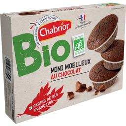 Mini moelleux au chocolat BIO
